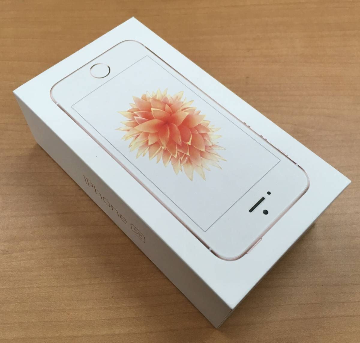 美品★Apple(アップル) iPhone SE 128GB SIMフリー Rose Gold(ローズゴールド)★Appl