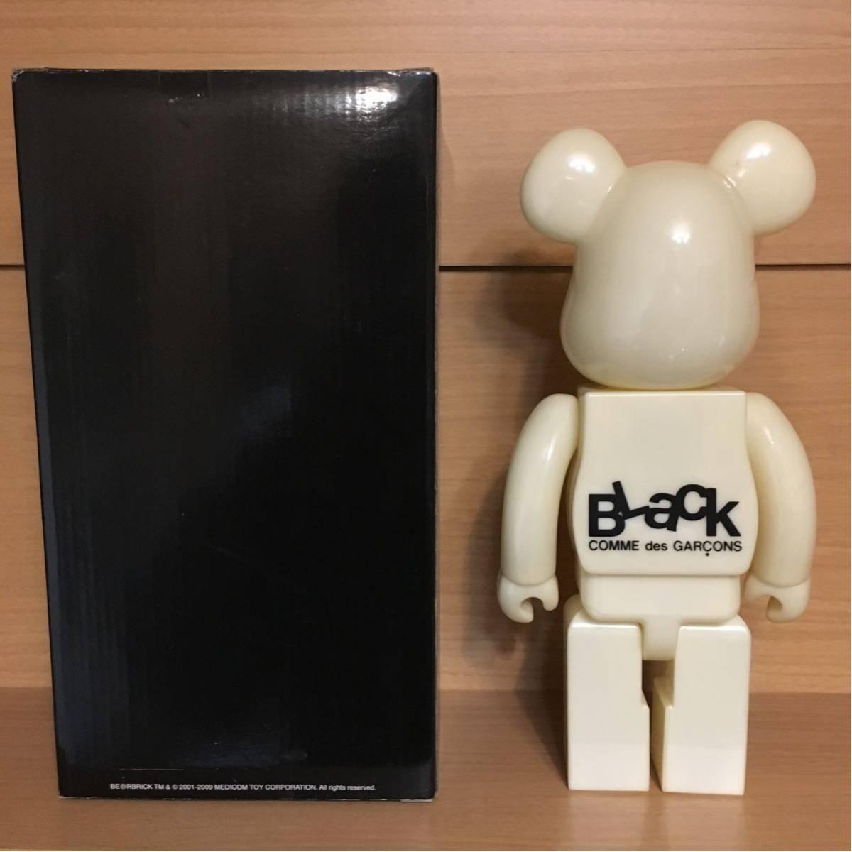 BE@RBRICK BLACK COMME des GARCONS 400% ベアブリック ブラック コムデギャルソン medicomtoy メディコムトイ be@rbrick/kaws hf fragment_画像2