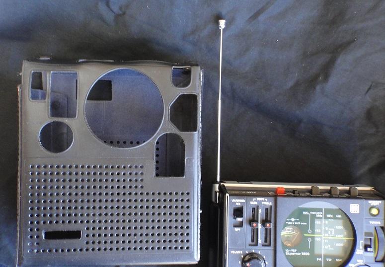 ★ SONY ICF-5600 FM/AM (FM.SW.MW) 3BAND RECEIVER. 【中古品】_画像7