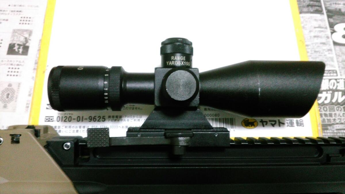 年越し特価1円~ G&G FN F2000(G2010) 改修調整品 スコープ、サイト付属品多数_画像4