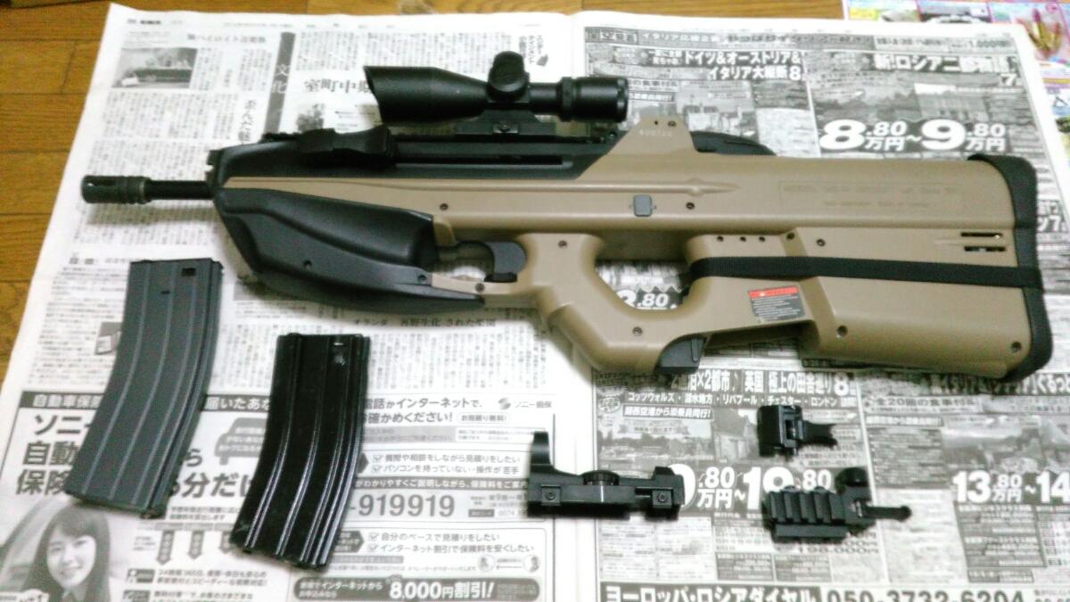 年越し特価1円~ G&G FN F2000(G2010) 改修調整品 スコープ、サイト付属品多数
