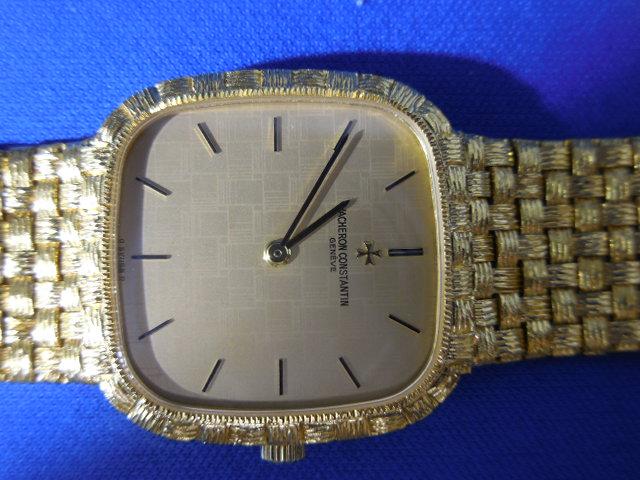 VACHERON CONSTENTIN ヴアシユロン・コンスタンタン 手巻き メンズ腕時計 金無垢