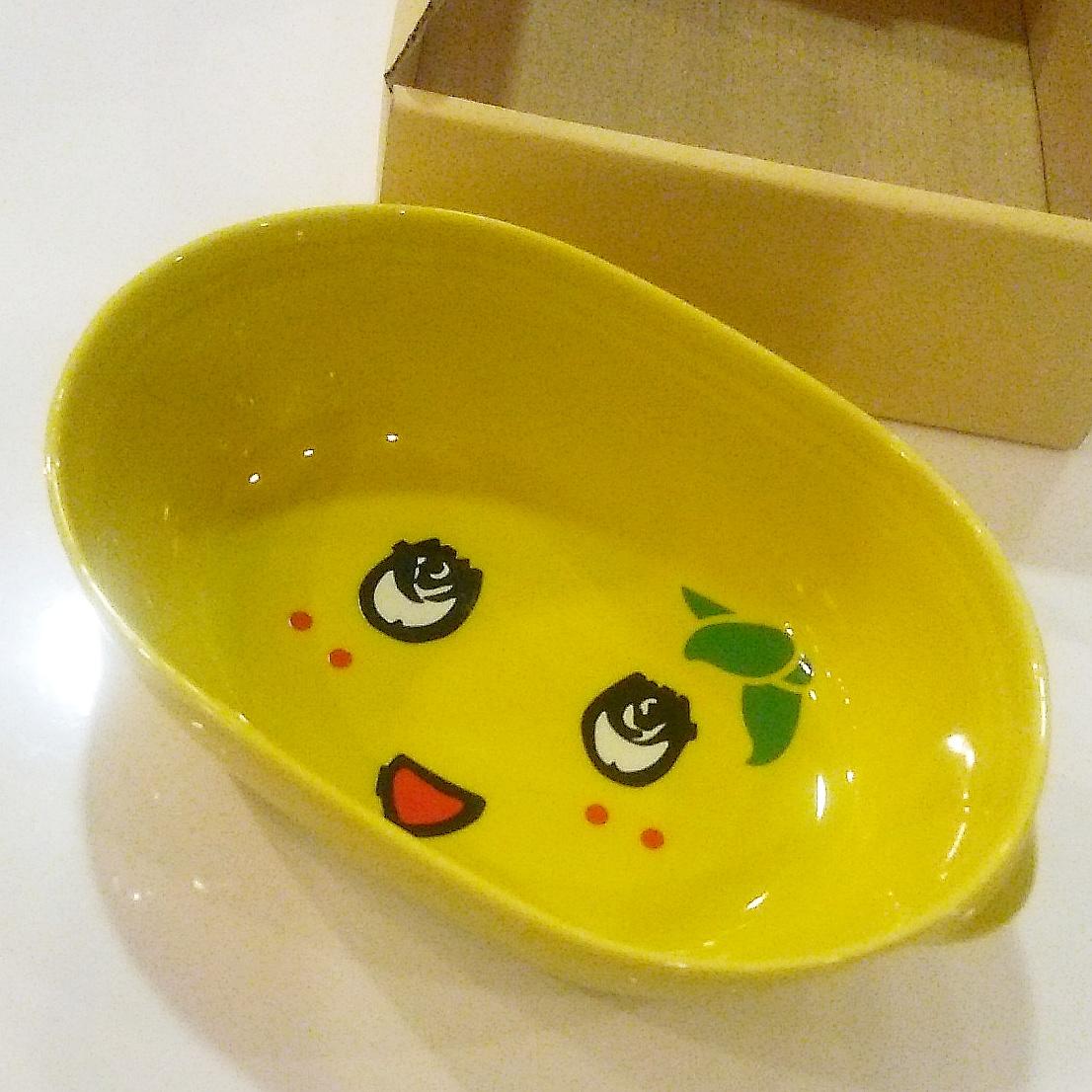 ふなっしーのグラタン皿 新品です!