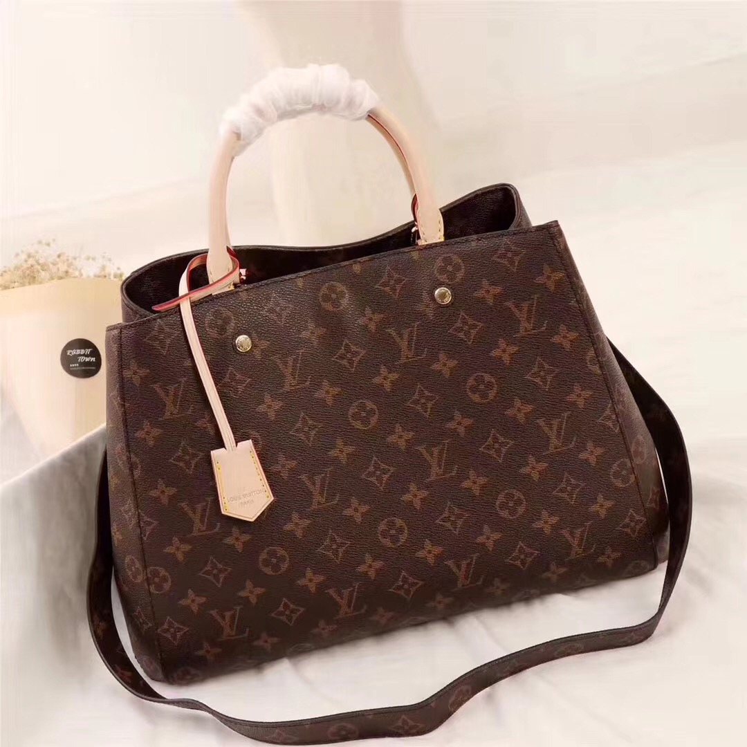 LOUIS VUITTON ルイヴィトン モンテーニュ MM M41057