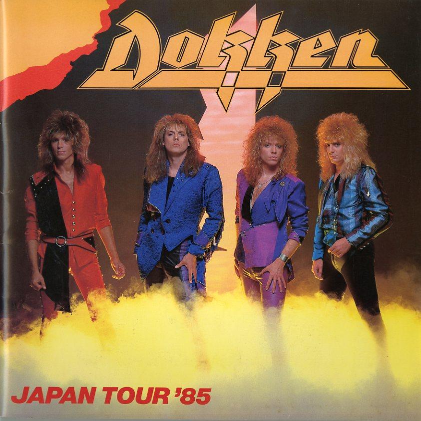 J00000823/コンサートパンフ/ドッケン「Dokken Japan Tour 85」
