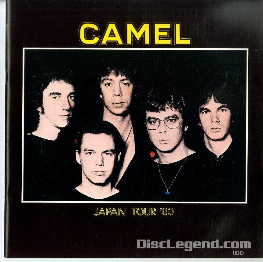 C66861/コンサートパンフ/キャメル「Japan Tour 80」
