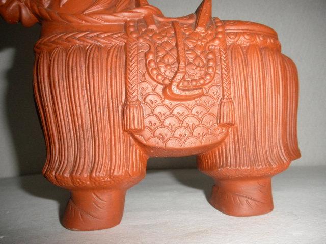 @@ 馬 馬の飾り物 陶器 古民具 レトロ インテリア 雑貨 飾り物 置物_画像5