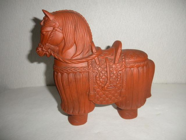 @@ 馬 馬の飾り物 陶器 古民具 レトロ インテリア 雑貨 飾り物 置物_画像1