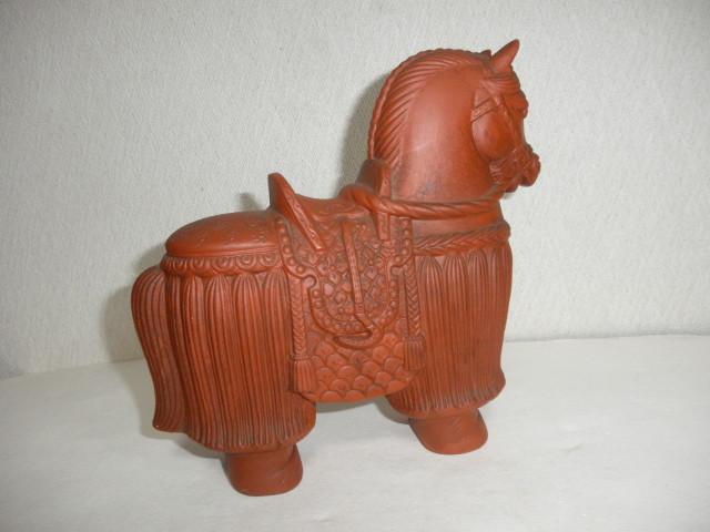@@ 馬 馬の飾り物 陶器 古民具 レトロ インテリア 雑貨 飾り物 置物_画像3