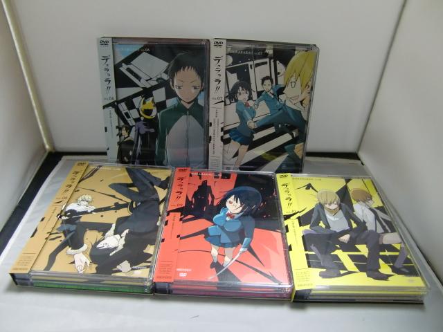 DVD+CD デュラララ!! Vol.6~10 完全生産限定版 まとめて5セット 豊永利行, 宮野真守, 花澤香菜, 神谷浩史_画像2