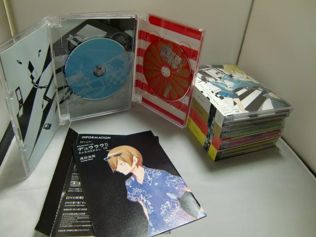 DVD+CD デュラララ!! Vol.6~10 完全生産限定版 まとめて5セット 豊永利行, 宮野真守, 花澤香菜, 神谷浩史_画像3