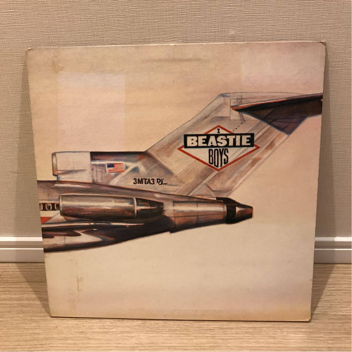 Beastie Boys LP『Licensed to ill』 ビースティボーイズ レコード アルバム Def Jam 『FIGHT FOR YOUR RIGHT』_画像1