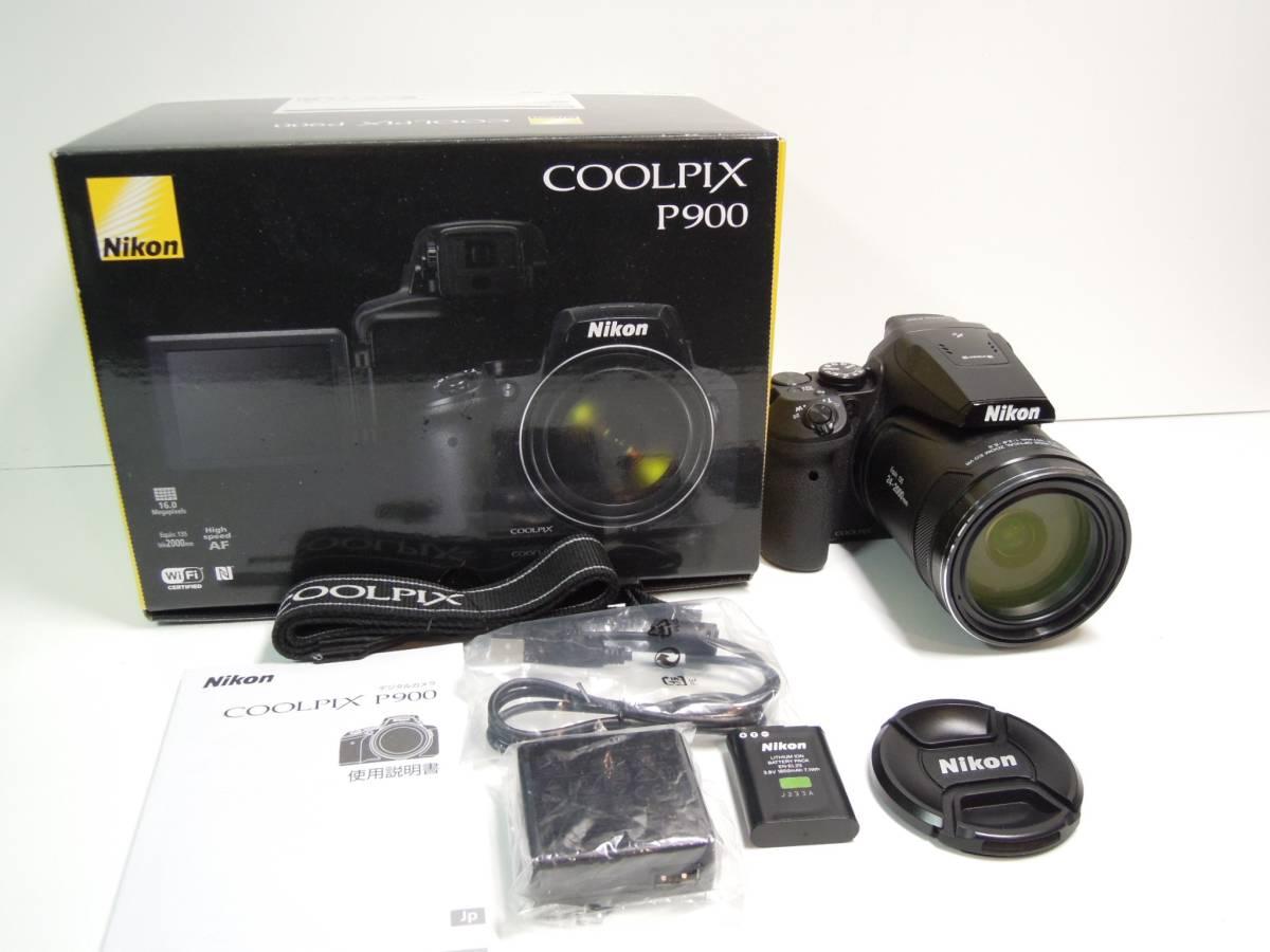 極上美品 Nikon P900 光学83倍ズーム(24mm~2000mm) ニコン