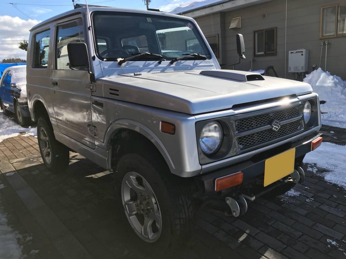売り切り 車検2年付き H7 ジムニー JA11V改 公認 リフトアップ ランドベンチャー AT カスタム多数