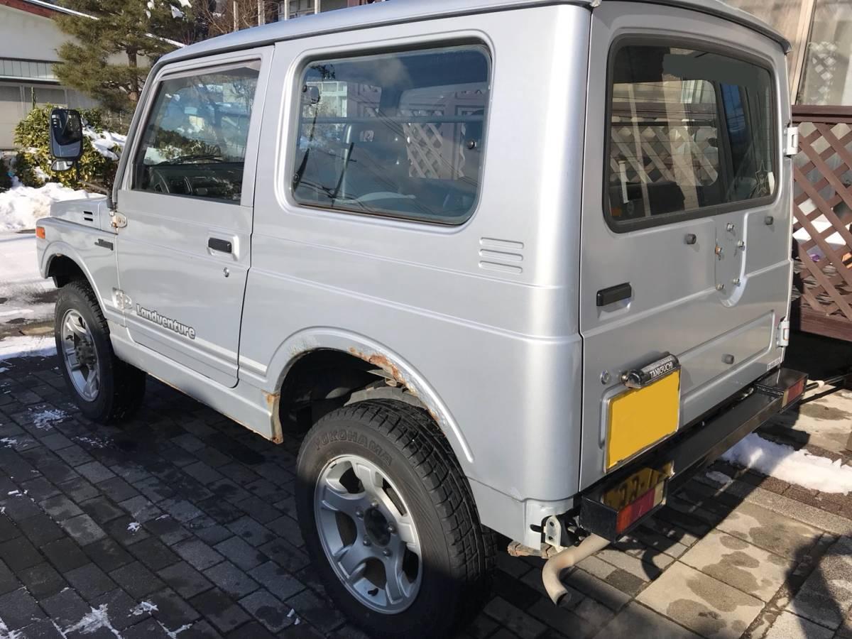 売り切り 車検2年付き H7 ジムニー JA11V改 公認 リフトアップ ランドベンチャー AT カスタム多数_画像4