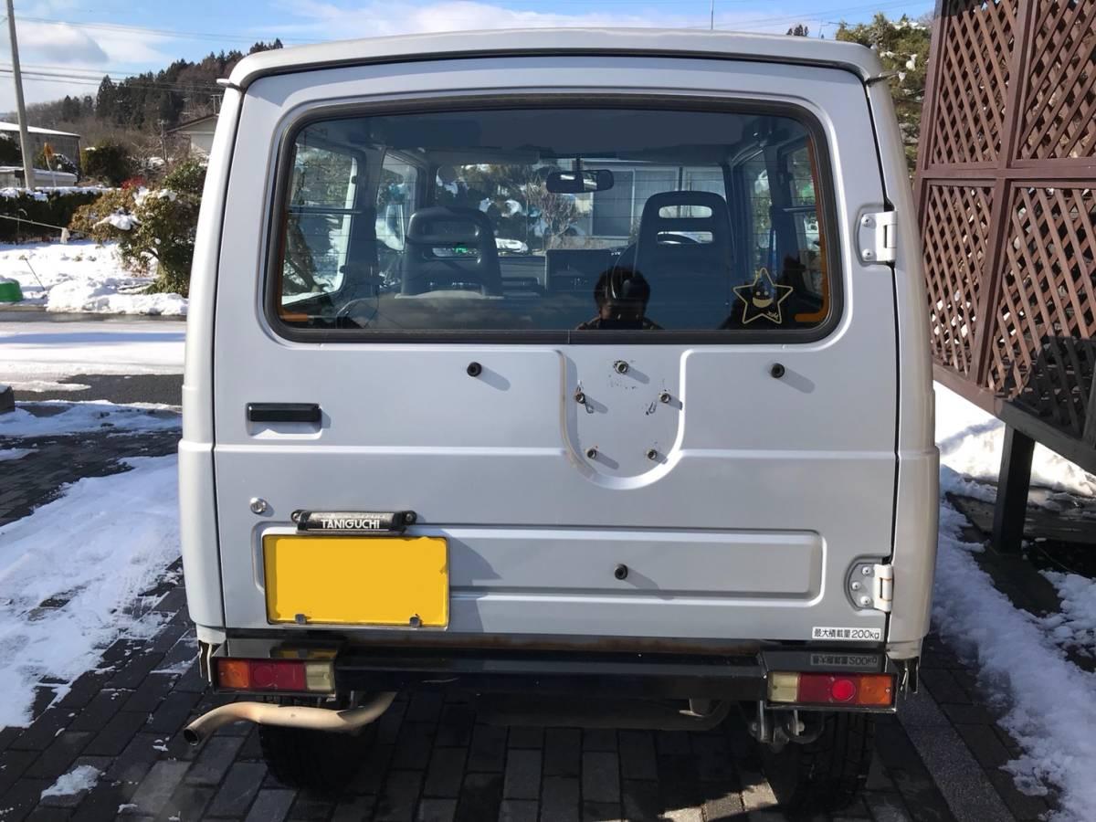 売り切り 車検2年付き H7 ジムニー JA11V改 公認 リフトアップ ランドベンチャー AT カスタム多数_画像6