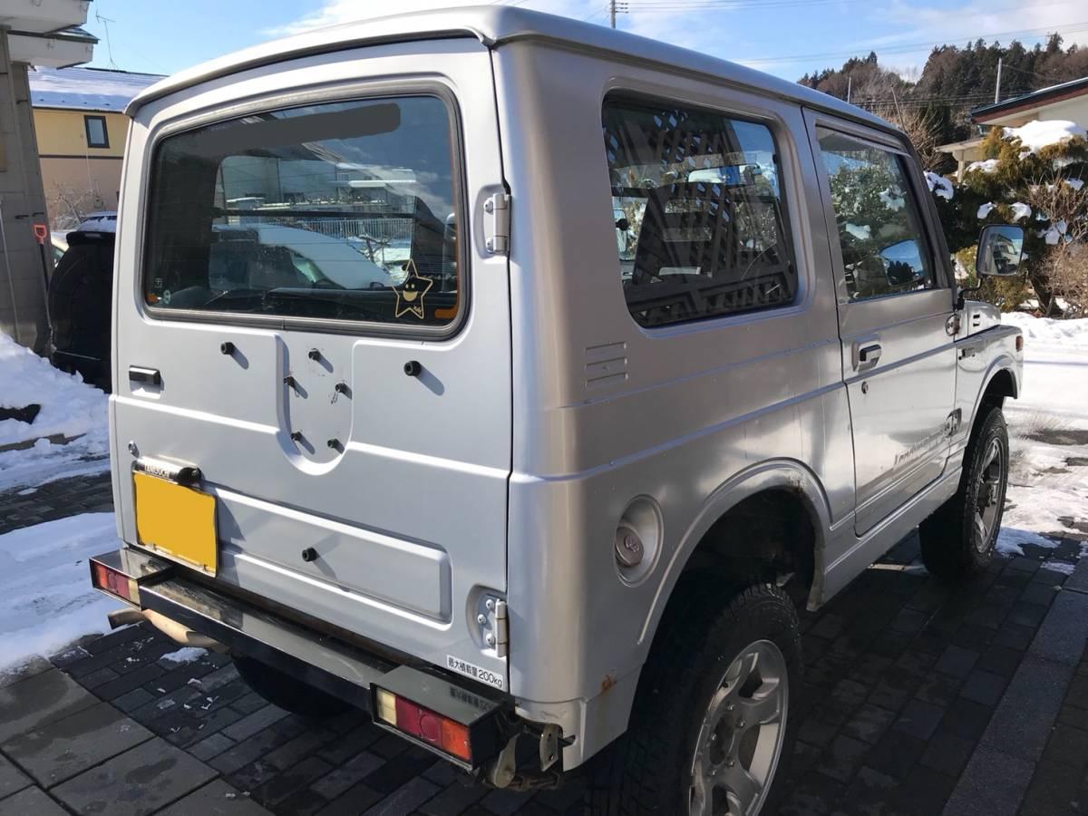 売り切り 車検2年付き H7 ジムニー JA11V改 公認 リフトアップ ランドベンチャー AT カスタム多数_画像5