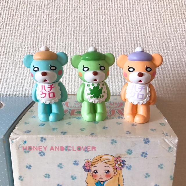 羽海野チカ☆ハチミツとクローバー☆3月のライオン☆フィギュアとオルゴールセット_画像4