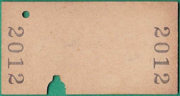鉄道硬券切符212■太子から長野原ゆき 10円 31-10.28_画像2