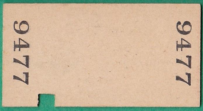 鉄道硬券切符99■砂越⇔余目 10円 35-1.10_画像2