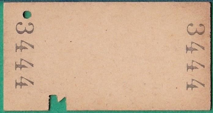 鉄道硬券切符7■作並から熊ヶ根ゆき 10円 33-7.16_画像2