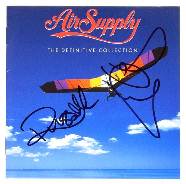 ★【エア・サプライ/Air Supply】直筆サイン入りCD★