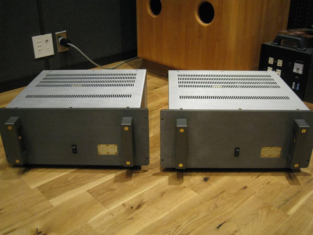 ★名器 KRELLクレル KMA-100MK2 モノパワーアンプ 2台セット美品 本国仕様 JAZZに最