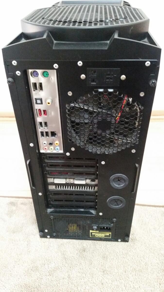 『まとめて』ANTEC PCケース Nine Hundred ATXミドルタワー DDR3 6GB ASUS P6T GEFORCE GTX200 TX650W PLEXTOR PX-755A_画像10