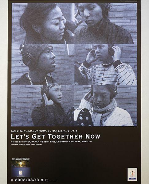 <ポスター>Let's Get Together Now「Voices of KOREA/JAPAN」ケミストリー, Sowelu, Brown Eyes, Lena Park ★非売品