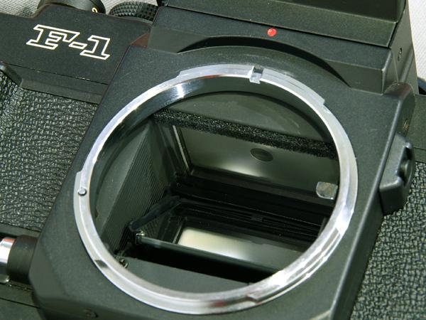 キヤノン Canon New F-1 ボディ Body ジャンク 訳あり_画像8
