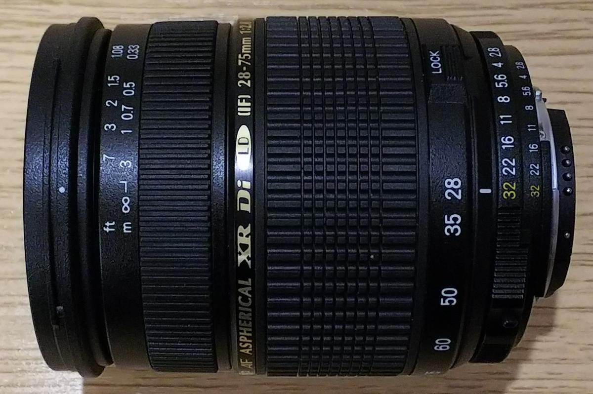■美品中古■Tamron タムロン レンズ SP AF 28-75mm F2.8 Asp XR Di LD IF Macro Φ67 ■ニコンマウント■