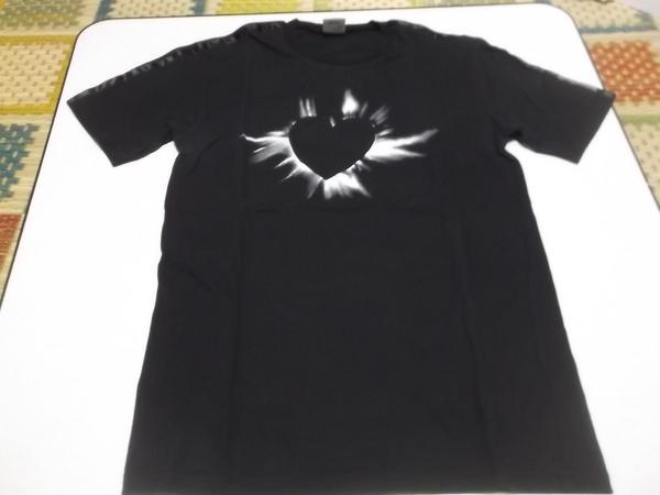 ▽ 布袋寅泰 倉科昌高 【 コラボTシャツ 黒♪美品 WORKS No.001 BlackHeart 】 元BOOWY / COMPLEX