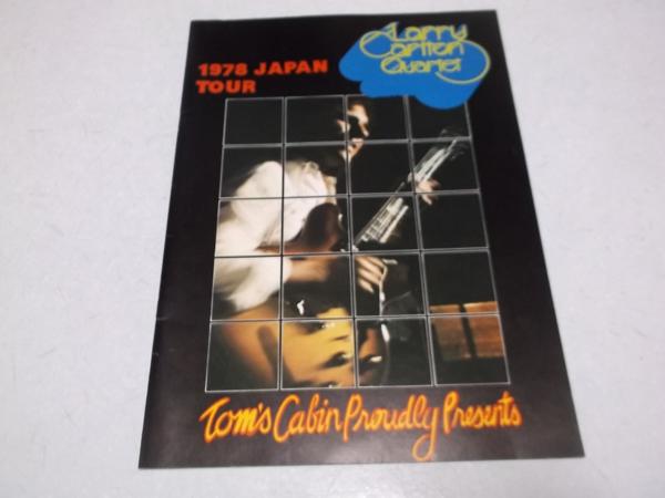 ▽ ラリー・カールトン ★ Larry Carlton 【 1978 JAPAN TOUR ツアーパンフ 】