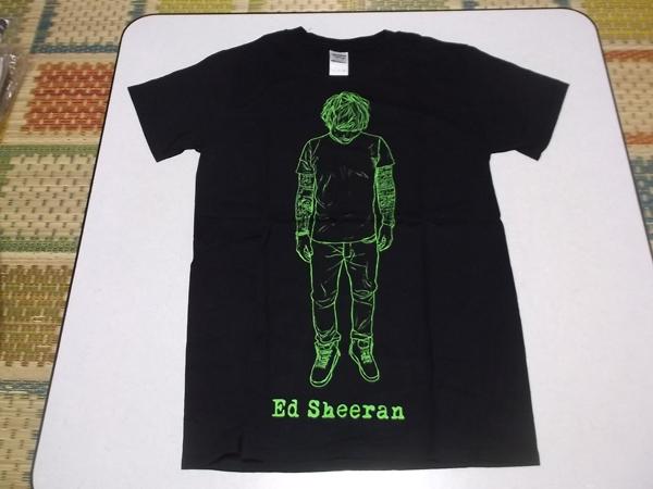 ▽ エド・シーラン ★ Ed Sheeran 【 Tシャツ ♪美品 】 全身イラスト柄