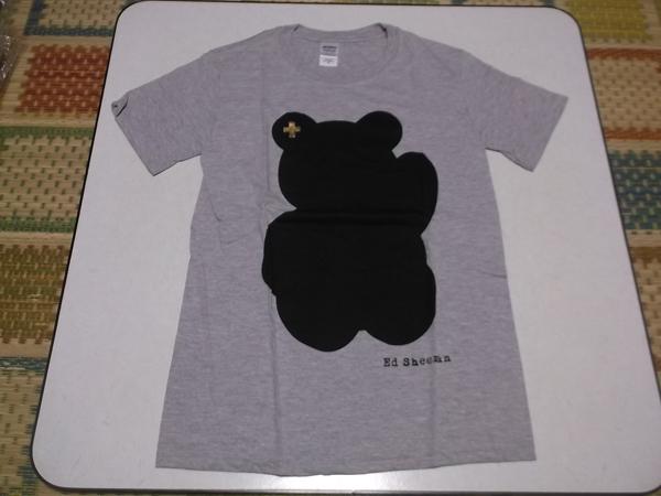 ▽ エド・シーラン ★ Ed Sheeran 【 Tシャツ ♪美品 】 灰色