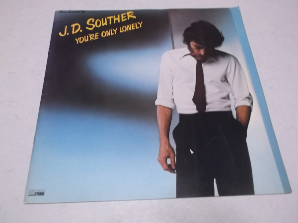 ▽ J.D.サウザー パンフ 【 1980ツアーパンフ 】 J.D.SOUTHER