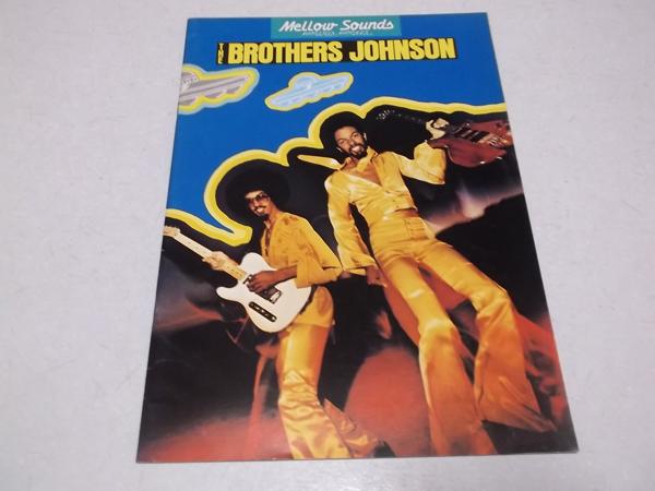 ▽ ブラザーズ・ジョンソン 【 1978 ツアーパンフ 】 THE BROTHERS JOHNSON