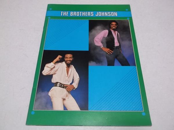 ▽ ブラザーズ・ジョンソン 【 1979 ツアーパンフ 】 THE BROTHERS JOHNSON