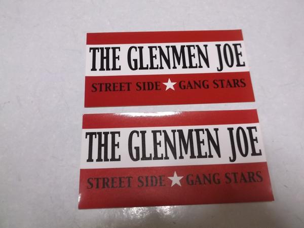 ▽ THE GLENMEN JOE ★ グレンメンジョー 【 シール ステッカー 2枚セット 】 V系