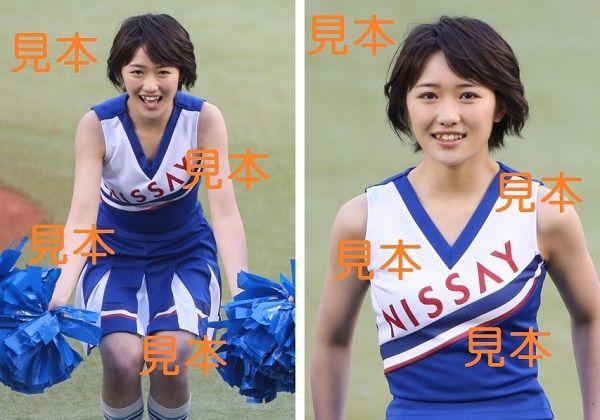 工藤遥『セ・パ交流戦 2017 応援大使(始球式)』生写真