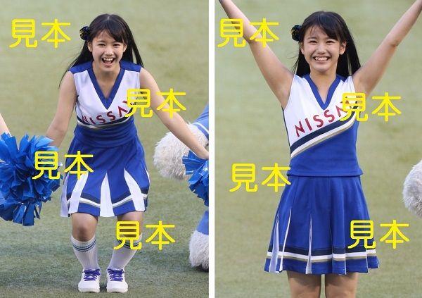 横山玲奈『セ・パ交流戦 2017 応援大使(始球式)』生写真