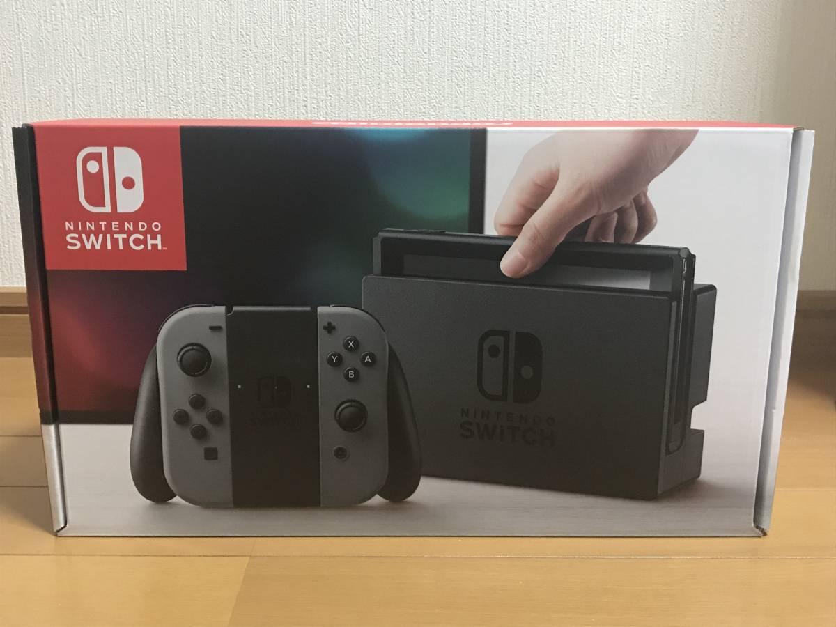 12/15購入 Nintendo Switch 任天堂 ニンテンドー スイッチ 本体 Joy-Con (L) / (R) グレ