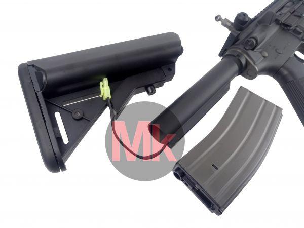 ARES M4 RAS CQB 電動ガン BK マイクロスイッチ搭載 アタッカー向け!M16 CQBR UMAREX ELITE FORCE C_画像3