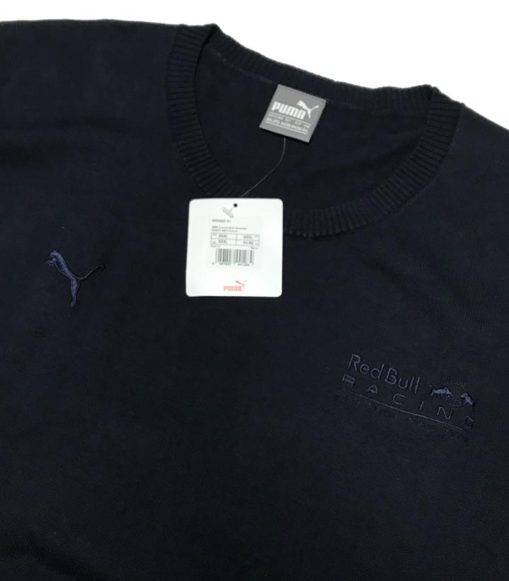 レッドブル 2017支給品 トラベル用セーター XXXL PUMA 非売品  フェルスタッペン リカルド_画像3