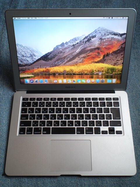 ★良品!Apple アップル MacBook Air 13インチ 128GB MD760J/B(Early 2014)送料無料★