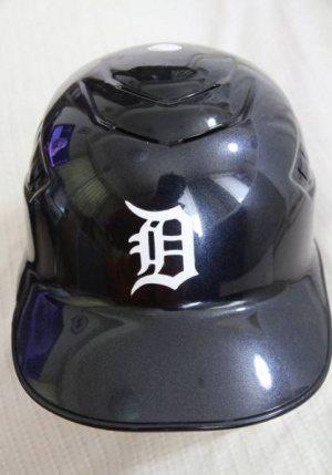 デトロイト・タイガース ビクター・マルチネス 2011年アメリカンリーグチャンピオンシップ実使用ヘルメット