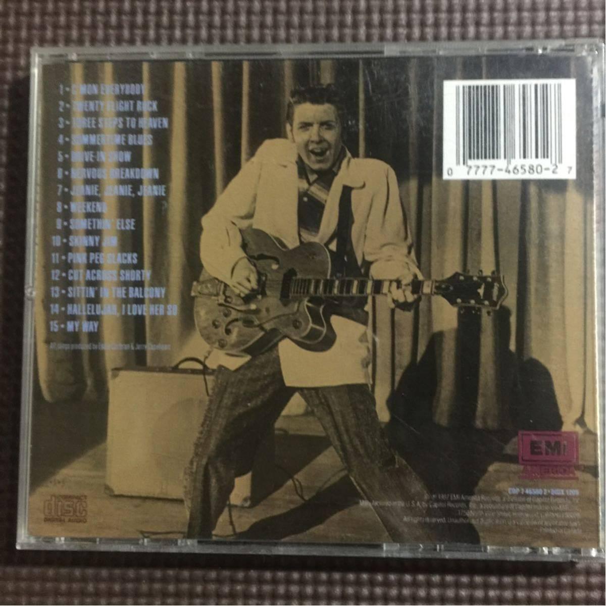 エディ・コクラン ザ・ベスト・オブ・エディ・コクラン USA盤 CD