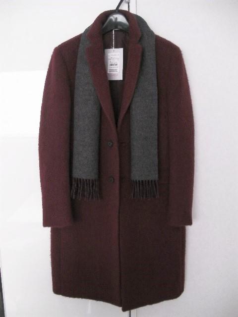 新品 Calvin Klein 冬 PRICE¥180000 高級感 上質 羊毛混おしゃれメンズ混チェスターコー