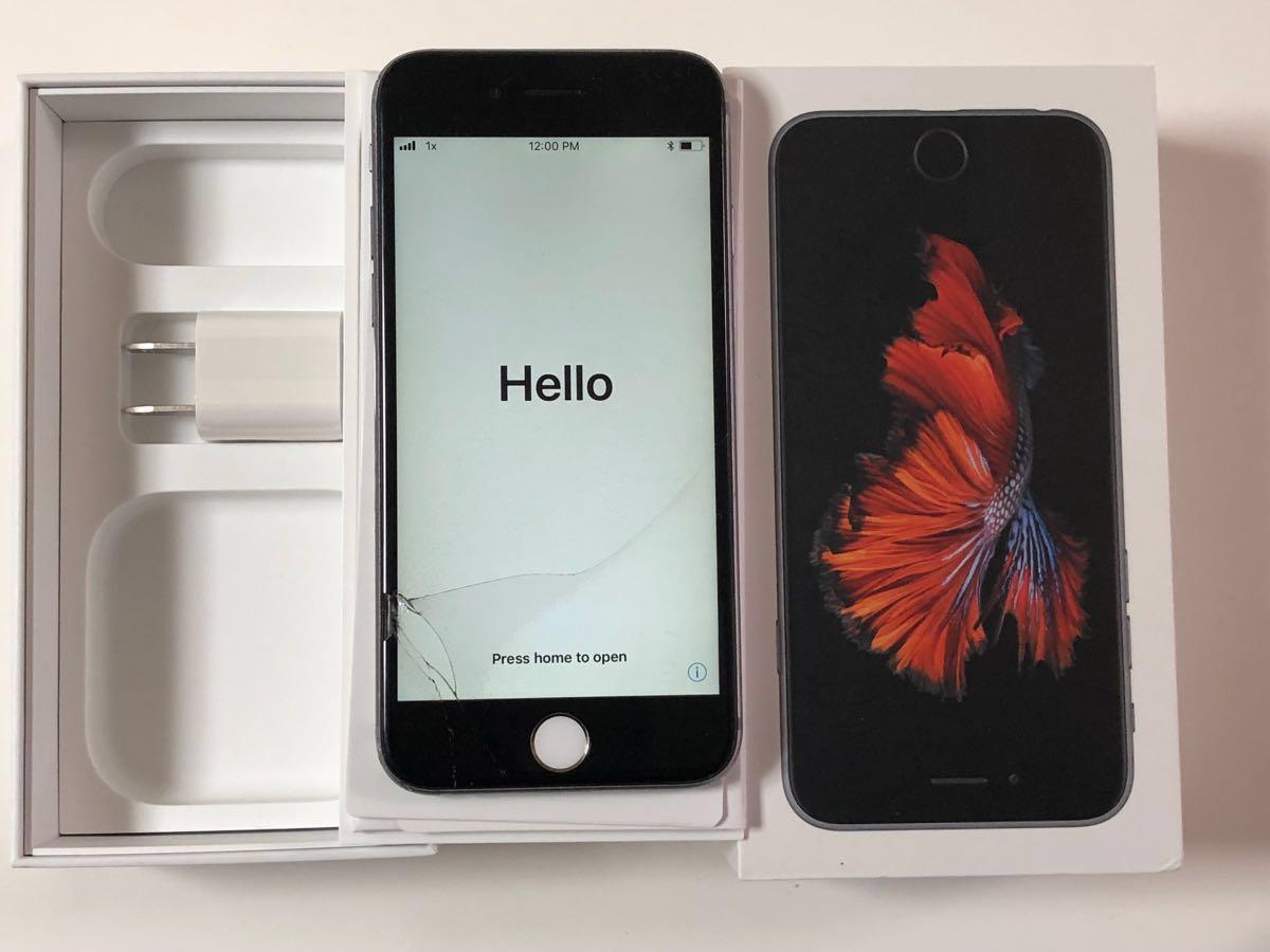 ★ジャンク★iPhone6s 64 スペースグレー