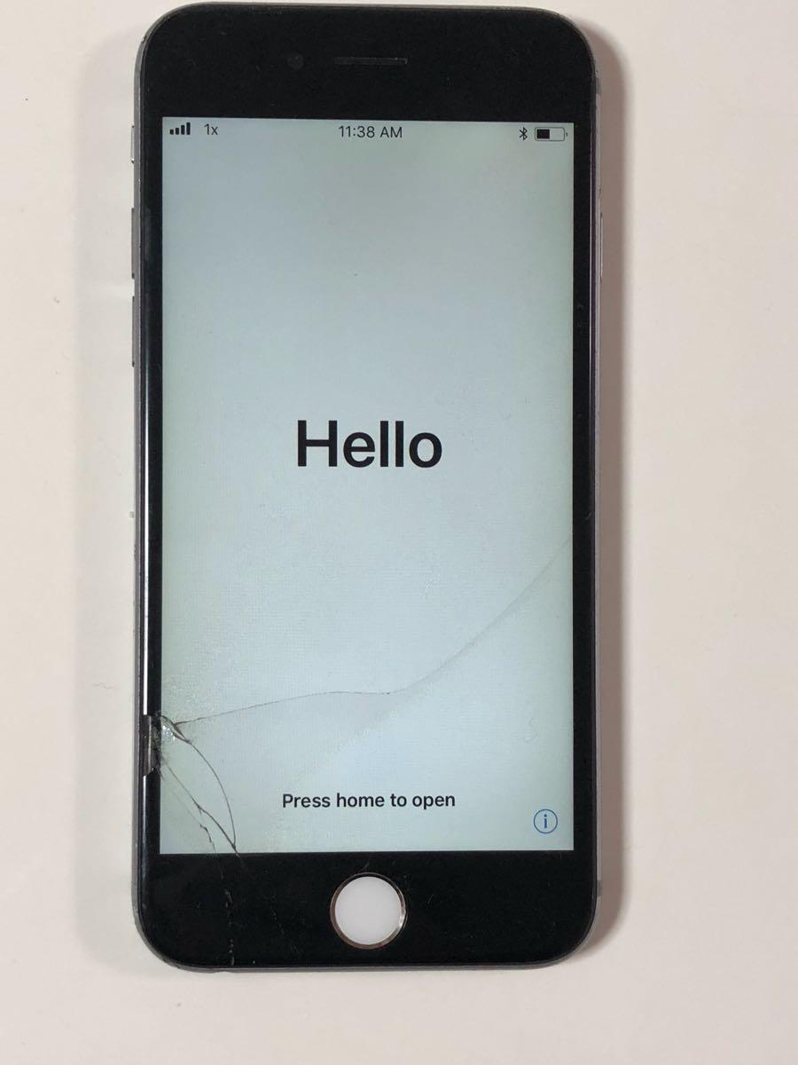 ★ジャンク★iPhone6s 64 スペースグレー_画像2